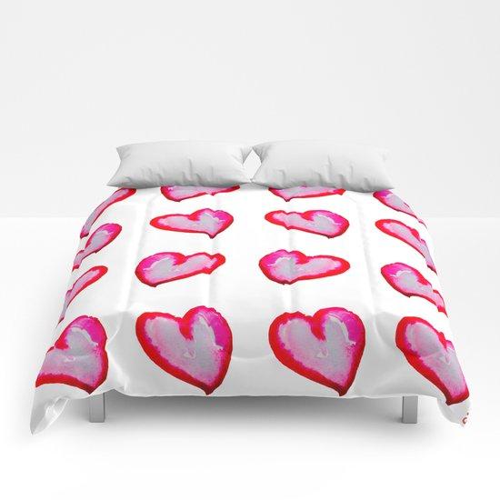 She Said She Wouldn't Go, Hearts! Comforters