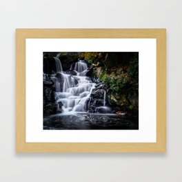 Cascade Framed Art Print
