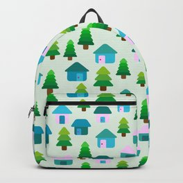 Home in Baby Mint Backpack