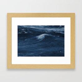 Breaker III Framed Art Print