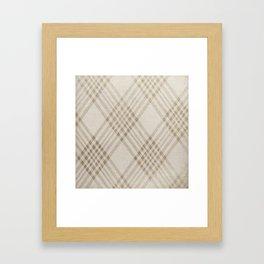 Rich Beige Framed Art Print