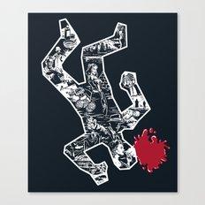Crime Noir Canvas Print