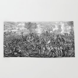 The Battle of Gettysburg Beach Towel