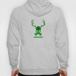 Carcosa Gas Mask Green Hoody