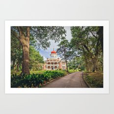 Octagon House - Longwood in Natchez Art Print
