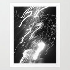 WHITEOUT : Ecstasy Art Print