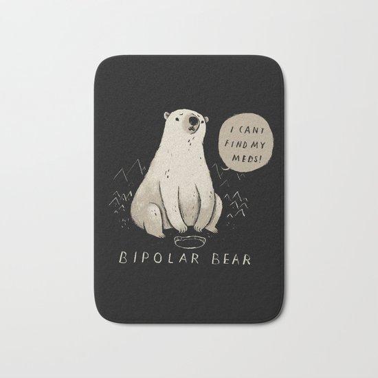 bipolar bear Bath Mat