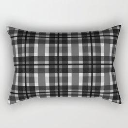 Break the Rules Black Rectangular Pillow