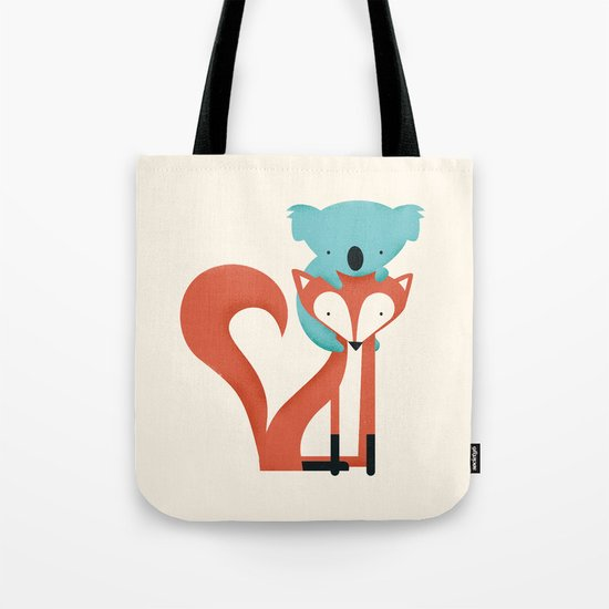 Fox & Koala Tote Bag