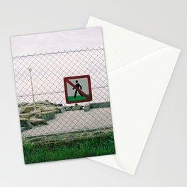 GRAND RESORT SERIES. Don't Walk, Piran, Mediterranean Sea, Color Film Photo Stationery Cards
