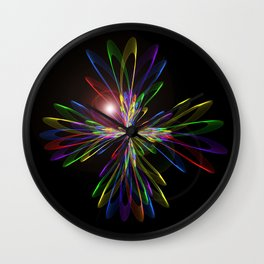 Abstract perfection - 103 Wall Clock