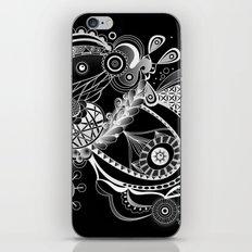 Spring tangle, black iPhone & iPod Skin