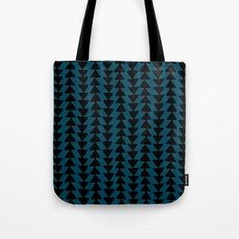 Blue Arrows Tote Bag