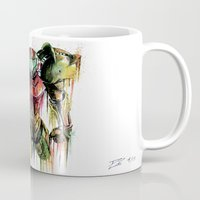 samus Mugs featuring Samus Aran by David Lakin