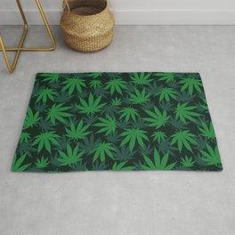 420 pot kush mary jane Weed Pattern Gift Rug