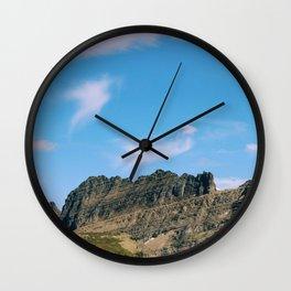 glacier ntl park part 2 Wall Clock