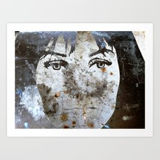 LOVE Is A BATTLEfield! Art Print