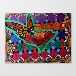 Cindy's Butterfly Canvas Print