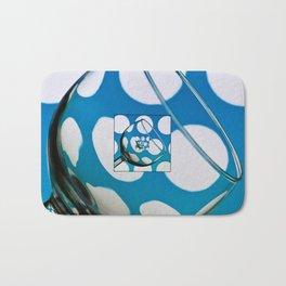 The Eternal Glass Light Blue Bath Mat