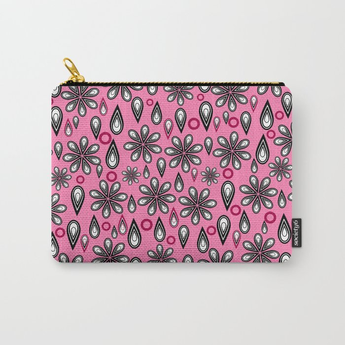 Petals, tears and... flowers Carry-All Pouch