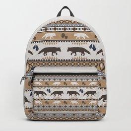 Boho animals | Autumn fox tan Backpack