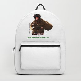 impish or admirable Backpack