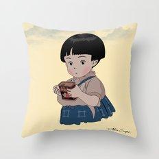Grave of the Fireflies (Hotaru no haka) Throw Pillow