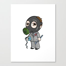 Lil Mysterioso Canvas Print