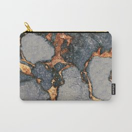 GEMSTONE GREY & GOLD Carry-All Pouch