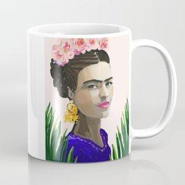 Frida in the Ferns Coffee Mug