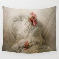 valentine Wall Tapestries featuring Valentine by Pauline Fowler ( Polly470 )