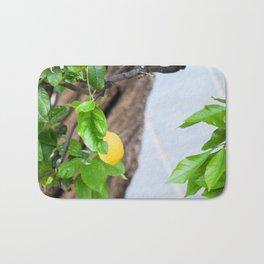 Italian Lemon Tree Bath Mat