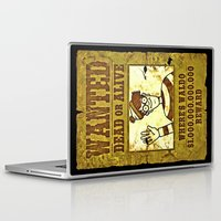 waldo Laptop & iPad Skins featuring Where's Waldo Wanted Poster by Silvio Ledbetter