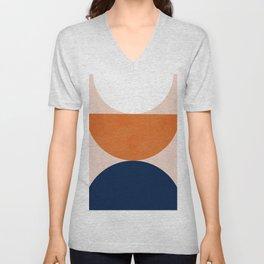 Abstraction_Balance_Minimalism_001 Unisex V-Neck