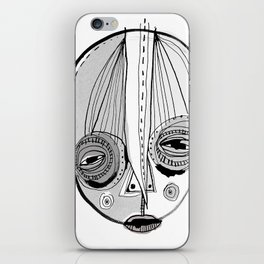 'Face II' iPhone Skin