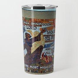 Lourdes University- Canticle of Creation (horizontal) Travel Mug