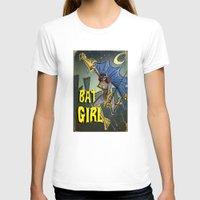 batgirl T-shirts featuring Batgirl by Joe Badon