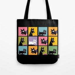 Different Scottie Tote Bag