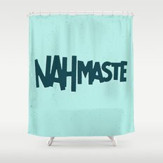 Nahmaste Shower Curtain