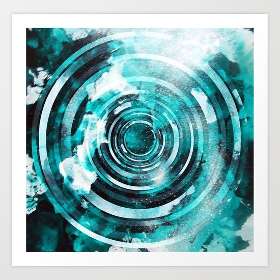 Turn. Art Print