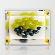 Grapes and Blueberries Laptop & iPad Skin