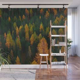 The Evergreens (Color) Wall Mural