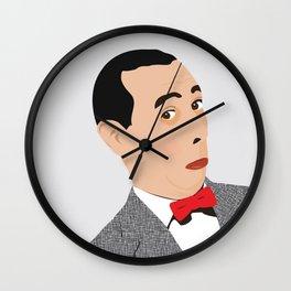 pee-wee Wall Clock