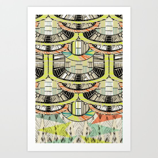 MARFA DAWN Art Print