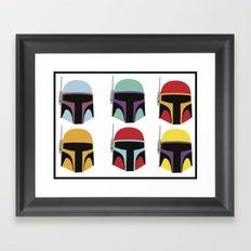 STAR WARS CLONE TROOPER Framed Art Print
