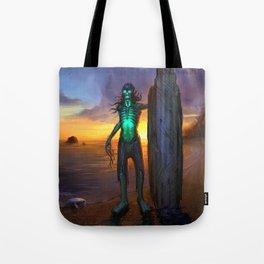 Toxic Surfer Tote Bag