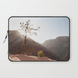 Morning Light on Angel's Landing Tree (Zion National Park, Utah) Laptop Sleeve