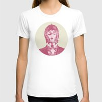 c3po T-shirts featuring C3PO by Les petites illustrations