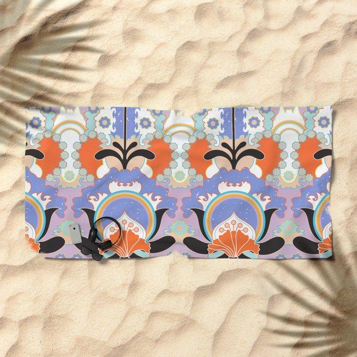 Starchild / Flowerchild - Pastel Beach Towel