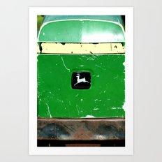John Deere Green..... Art Print